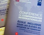 Ecole inclusive - conférence de comparaisons internationales