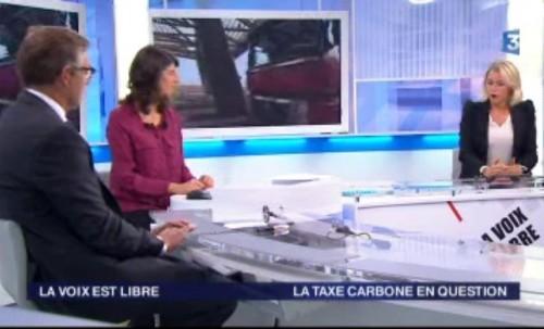Invitée de la Voix est Libre sur France 3 Picardie