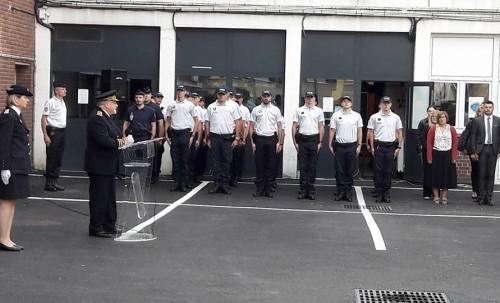 Accueil des nouveaux policiers