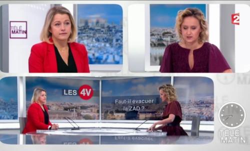 Invitée sur le plateau 4 Vérités sur France 2