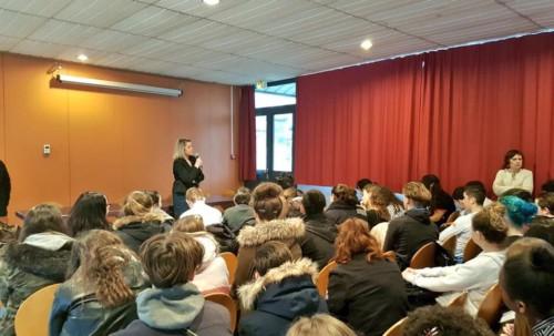 Rencontre avec les élèves du collège d'Etouvie