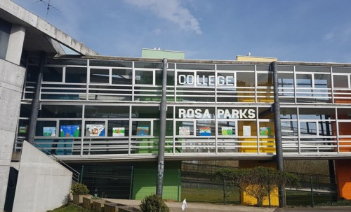 Inauguration du collège Rosa Parks