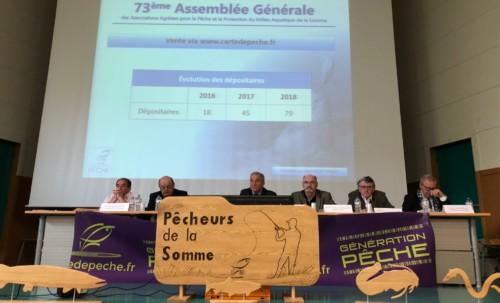 Assemblée générale de la Fédération de la Pêche
