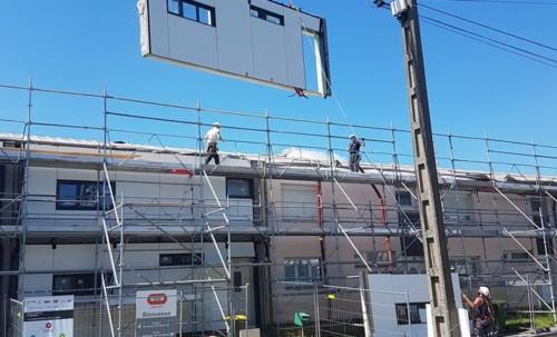 Une rénovation énergétique innovante à Longueau