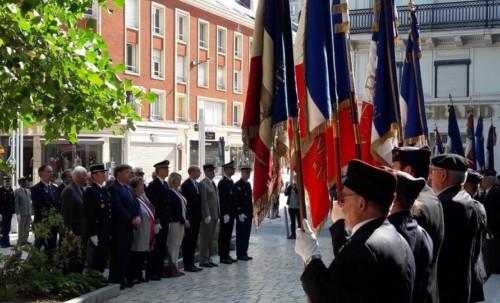 Commémoration de la Libération d'Amiens
