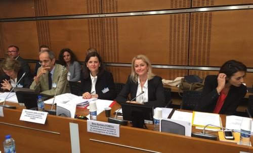 Audition de la présidente de la commission particulière du débat public sur le Plan national de gestion des matières et déchets radioactifs