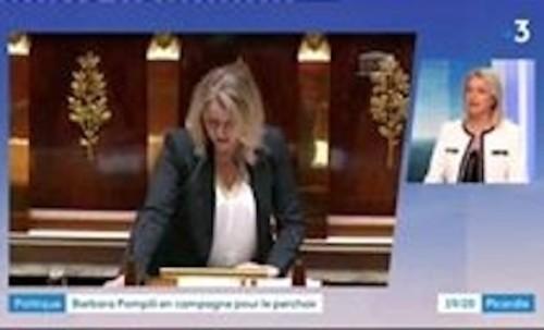 Invitée du JT du France 3 Picardie