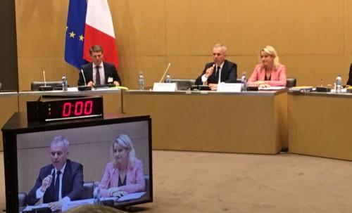 Audition de François de Rugy, Ministre de la transition écologique et solidaire