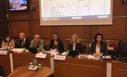 Réunion de commission sur le budget Écologie, développement et mobilité durables &