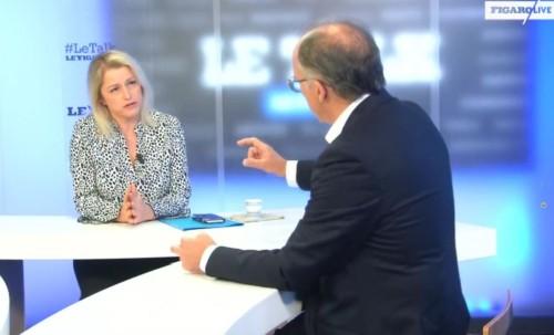 Invitée du talk Le Figaro
