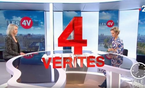 Invitée des 4 vérités sur France 2