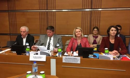 Audition de la Fédération Nationale des Chasseurs pour le projet de loi AFB-ONCFS
