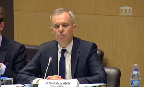 Audition du ministre d'Etat François de Rugy sur la feuille de route pour l'énergie