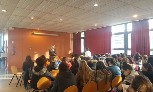 Rencontre avec les élèves de Rosa Parks