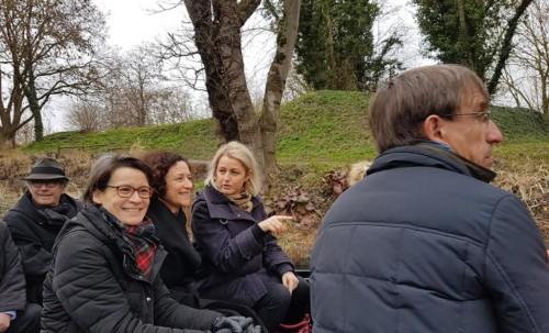 Déplacement à Amiens d'Emmanuelle Wargon