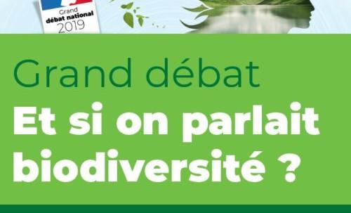 Grand débat sur la biodiversité