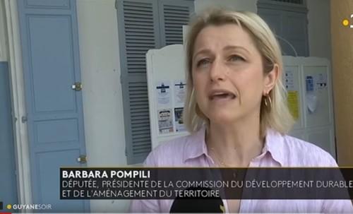 Une délégation de l'Assemblée nationale emmenée par Barbara Pompili en Guyane pour rencontrer les acteurs du projet Montagne d'or