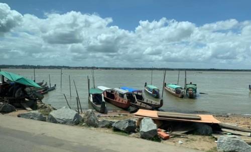 Déplacement en Guyane