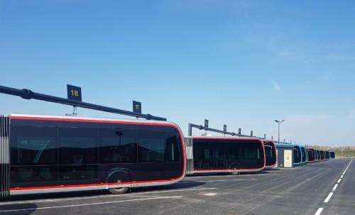 Inauguration du dépôt de bus