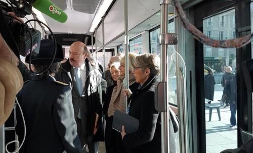 Déplacements du quotidien : La Ministre des Transports à Amiens