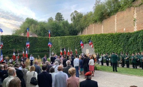 Anniversaire de la Libération d'Amiens