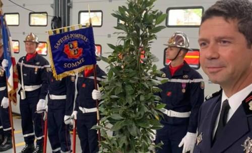 Inauguration de la nouvelle caserne des pompiers à Amiens