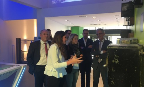 Visite du showroom d'Enedis