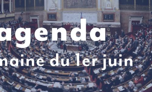 L'agenda : Semaine du 1er juin