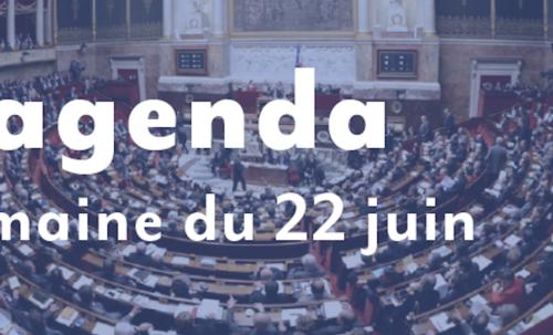 L'agenda : Semaine du 22 juin