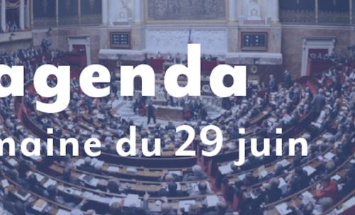 L'agenda : Semaine du 29 juin