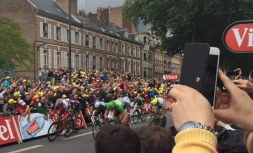 Tour de France à Amiens