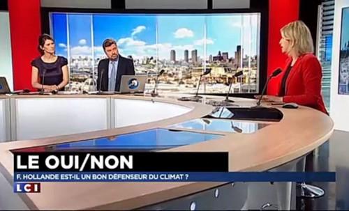 Invitée du OUI / NON sur LCI