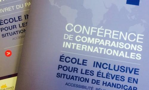 Ecole inclusive - conférence de comparaisons internationales