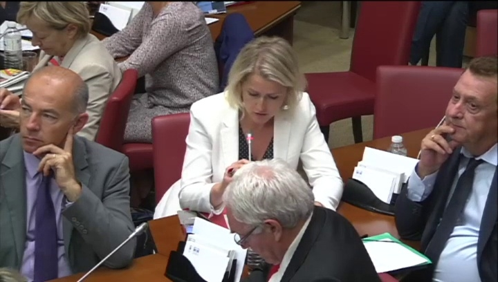 Audition de la ministre de l 39 education nationale sur la for Ministre de l exterieur