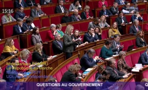 Question au ministre sur la COP 24