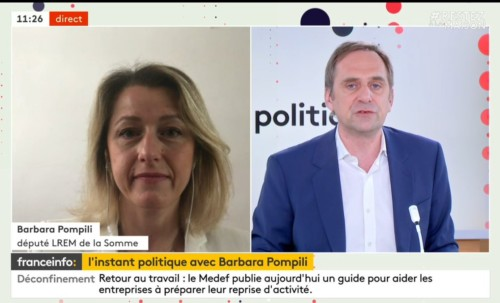 Invitée de France Info