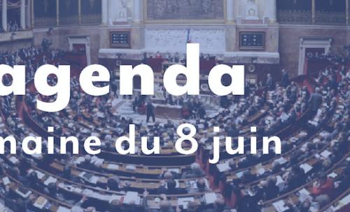 L'agenda : Semaine du 8 juin