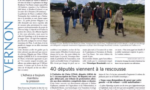 Fermes-usines de 1 000 vaches : la mobilisation continue, en Normandie aussi !
