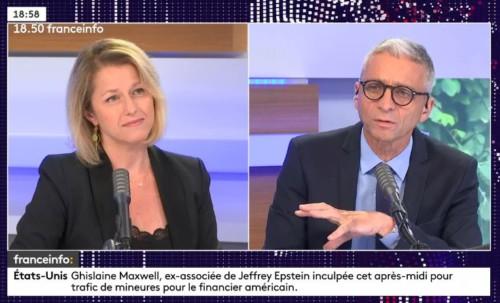 interview sur France Info